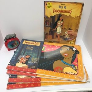 Disney Pocahontas Lot w/New & Pre-Owned 90s Items